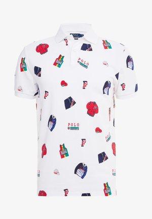 BASIC - Koszulka polo - white/multi