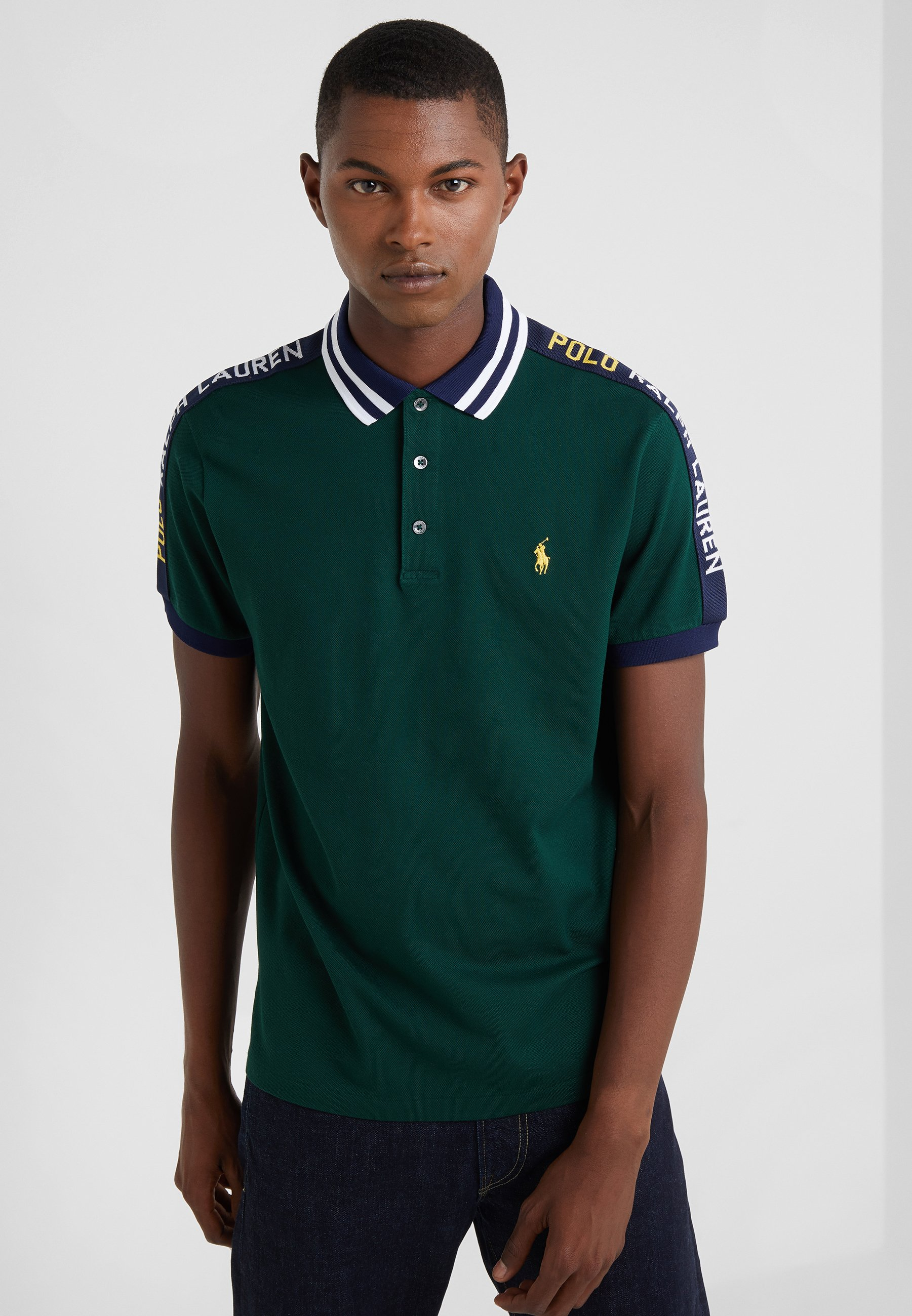 Polo Ralph Lauren STRETCH - Koszulka polo - college green