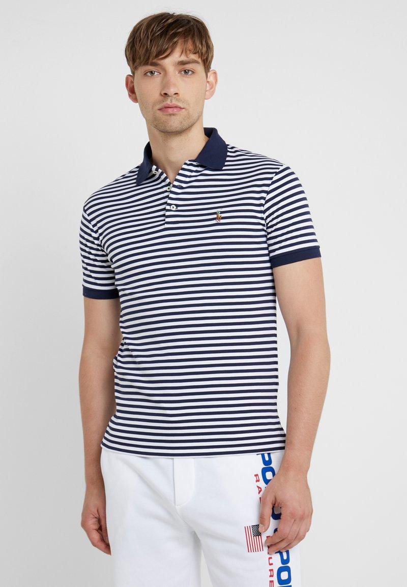 Polo Ralph Lauren - PIMA - Koszulka polo - french navy/white