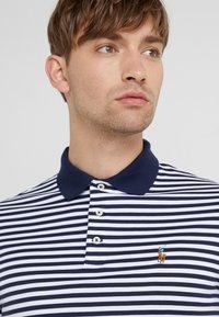 Polo Ralph Lauren - PIMA - Koszulka polo - french navy/white - 3