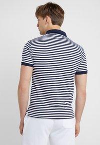 Polo Ralph Lauren - PIMA - Koszulka polo - french navy/white - 2