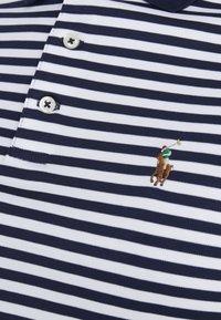 Polo Ralph Lauren - PIMA - Koszulka polo - french navy/white - 5