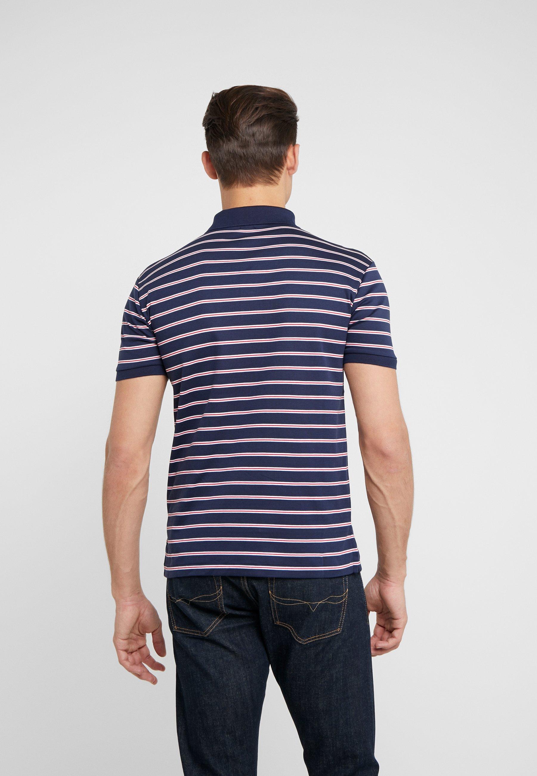 Polo Ralph Lauren PIMA - Koszulka polo - french navy/multi-coloured