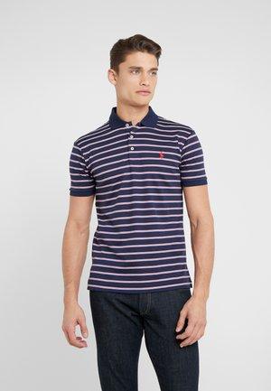 PIMA POLO - Polo shirt - french navy/multi-coloured