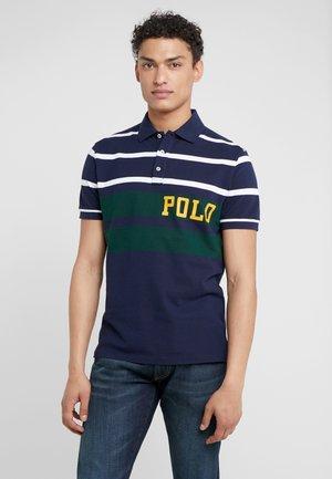 BASIC  - Polo shirt - cruise navy/multi