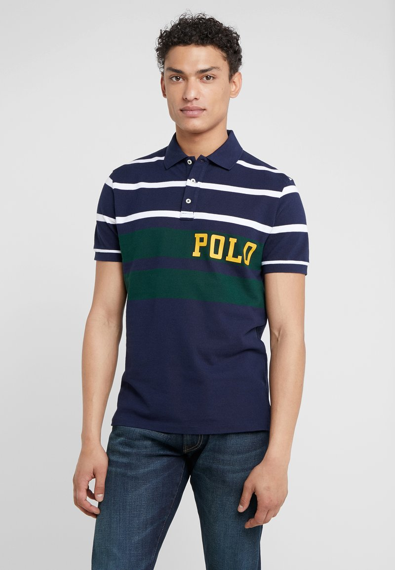 Polo Ralph Lauren - BASIC  - Polo shirt - cruise navy/multi