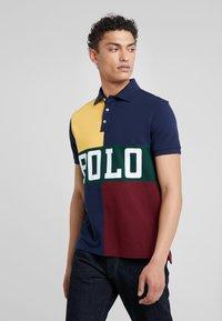 Polo Ralph Lauren - BASIC  - Polo shirt - gold bugle/multi - 0