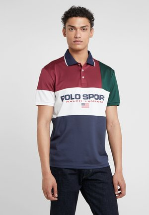 TECH - Polo - classic wine/ mult