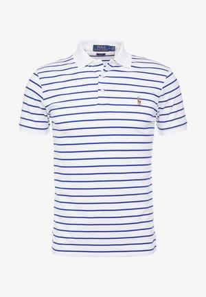 Poloshirt - white/heritage royal