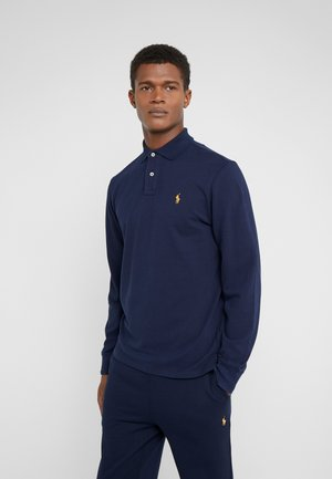 BASIC SLIM FIT - Polo - cruise navy