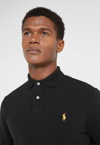 Polo Ralph Lauren - BASIC SLIM FIT - Polo - black - 4