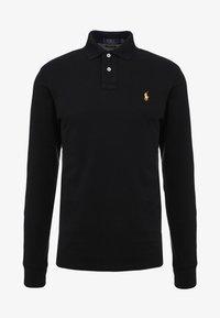 Polo Ralph Lauren - BASIC SLIM FIT - Polo shirt - black - 3