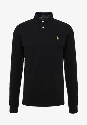 BASIC SLIM FIT - Polo shirt - black