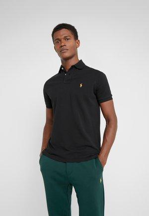 BASIC SLIM FIT - Polo shirt - black