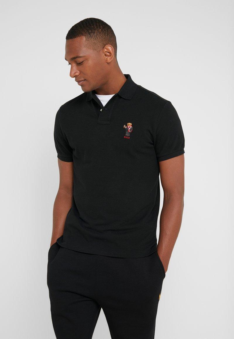 Polo Ralph Lauren - BASIC CUSTOM SLIM FIT - Polo shirt - black