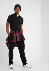 Polo Ralph Lauren - BASIC CUSTOM SLIM FIT - Polo shirt - black - 1