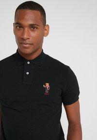 Polo Ralph Lauren - BASIC CUSTOM SLIM FIT - Polo shirt - black - 3