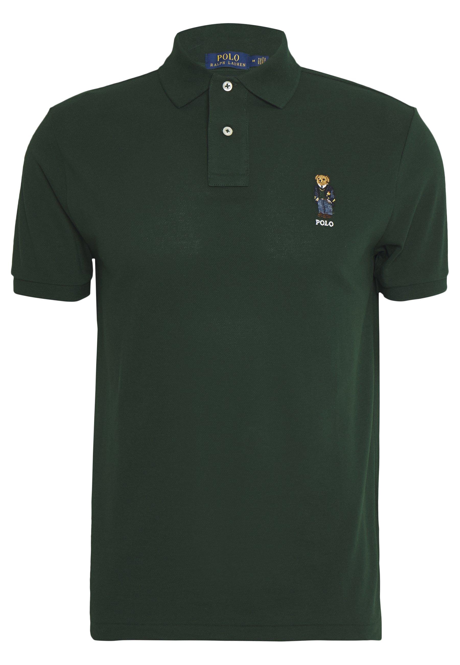 Polo Ralph Lauren BASIC - Koszulka polo - college green