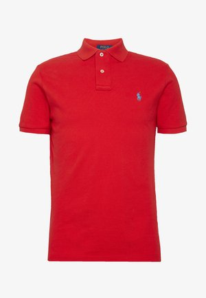 BASIC SLIM FIT - Polo - african red