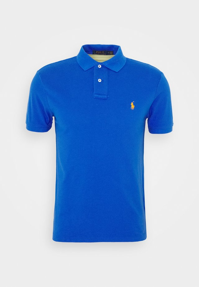 Polo shirt - new iris blue