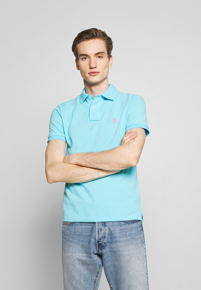 Polo shirt - french turquoise