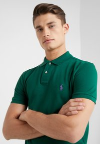 Polo Ralph Lauren - BASIC SLIM FIT - Koszulka polo - green - 3
