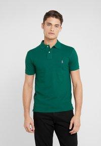 Polo Ralph Lauren - BASIC SLIM FIT - Koszulka polo - green - 0