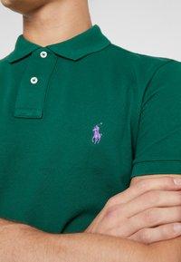 Polo Ralph Lauren - BASIC SLIM FIT - Koszulka polo - green - 5