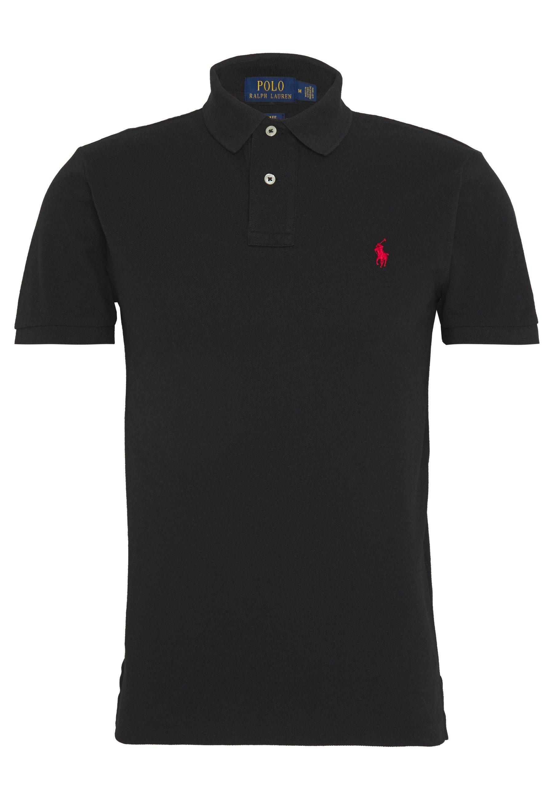 Polo Ralph Lauren Basic Slim Fit - Piké Black