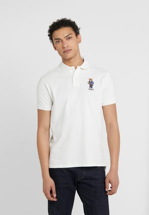 BASIC - Poloshirt - deckwash white