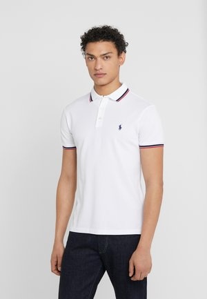 STRETCH - Polo shirt - white