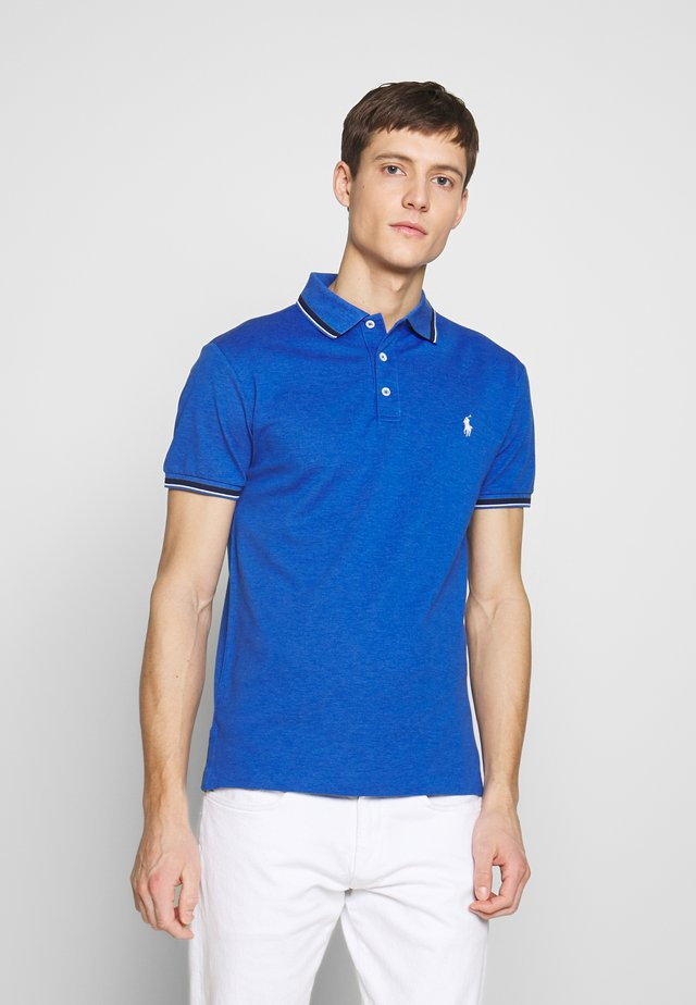 STRETCH - Polo shirt - dockside blue