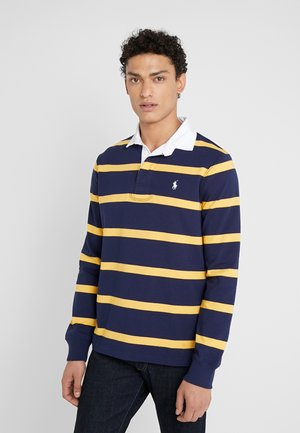 RUSTIC - Polo shirt - newport navy/gold