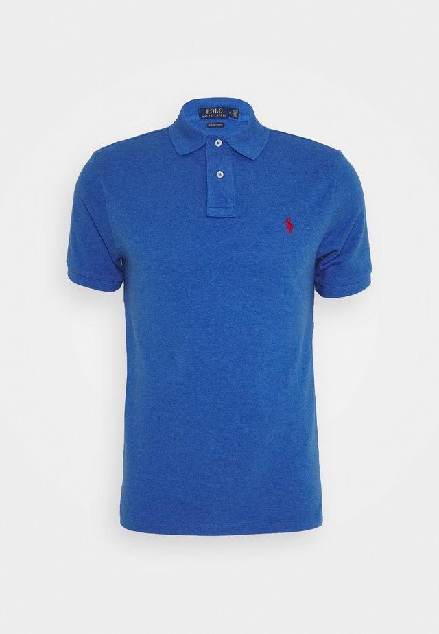SHORT SLEEVE - Polo shirt - blue heather