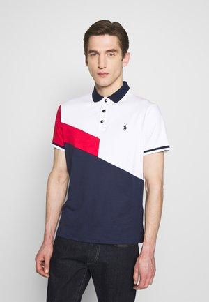 Poloshirt - white multi