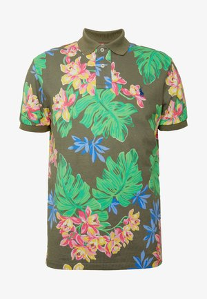 BASIC SLIM FIT - Polo shirt - surplus tropical