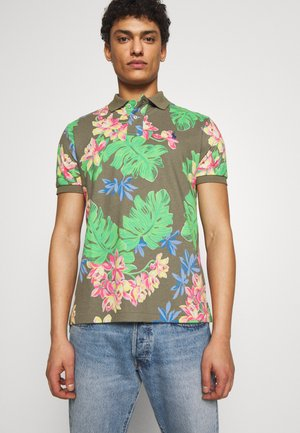 BASIC SLIM FIT - Poloshirts - surplus tropical