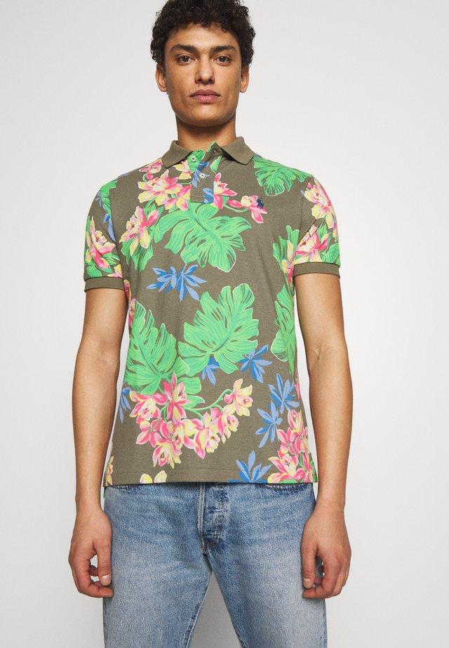 BASIC SLIM FIT - Polo shirt - surplus tropical