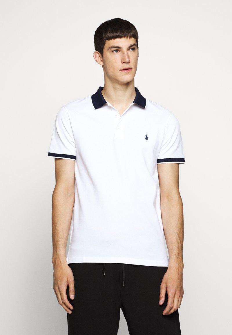 Polo Ralph Lauren - STRETCH - Polo shirt - white