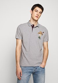 Polo Ralph Lauren - SHORT SLEEVE - Poloskjorter - mottled grey - 0