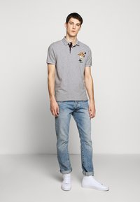 Polo Ralph Lauren - SHORT SLEEVE - Poloskjorter - mottled grey - 1