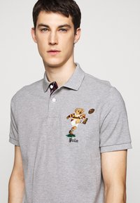 Polo Ralph Lauren - SHORT SLEEVE - Poloskjorter - mottled grey - 4