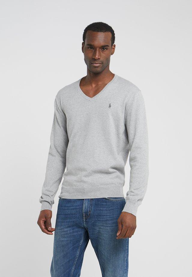 Svetr - light grey heather