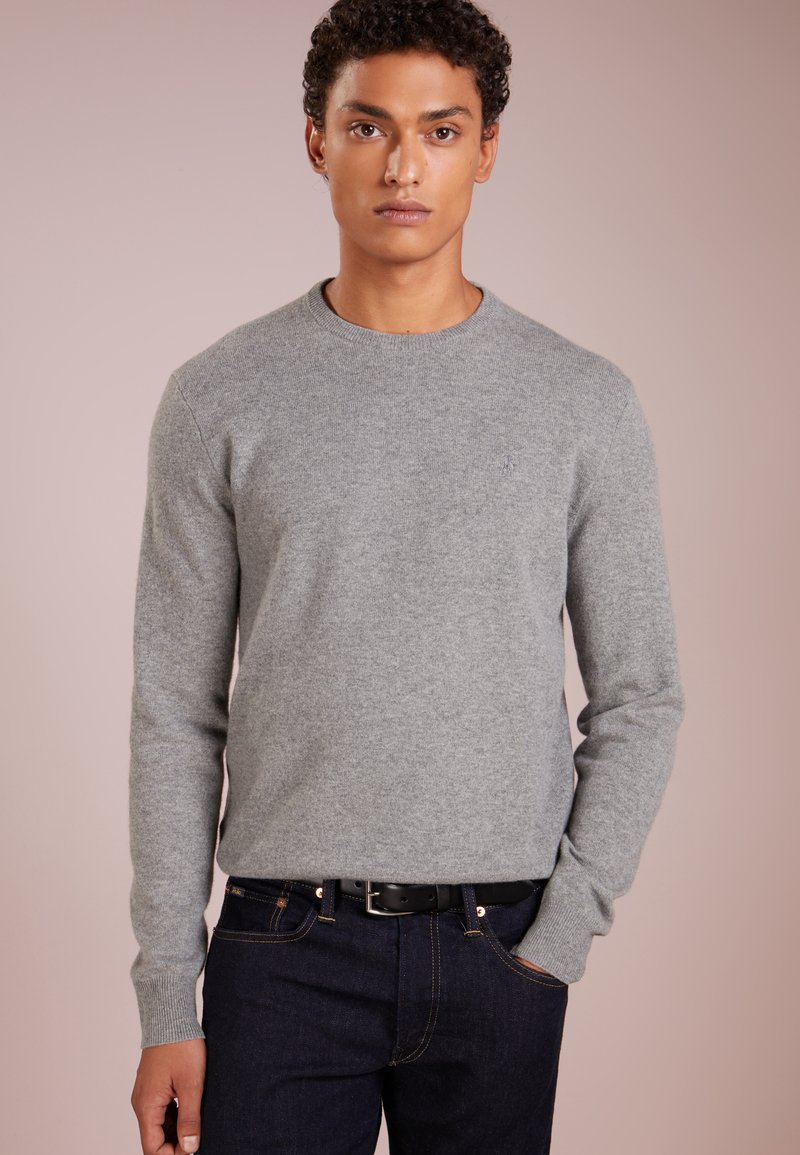 Polo Ralph Lauren - LORYELLE - Strickpullover - fawn grey heather