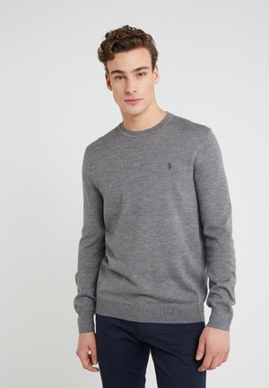Sweter - fawn grey heather