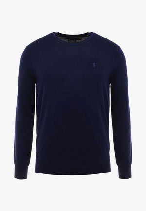 Strikkegenser - hunter navy
