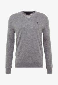 Polo Ralph Lauren - SLIM FIT - Strickpullover - fawn grey heather - 3