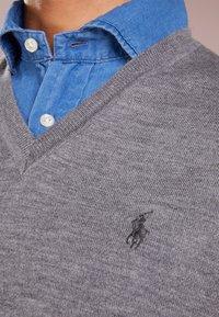 Polo Ralph Lauren - SLIM FIT - Strickpullover - fawn grey heather - 4