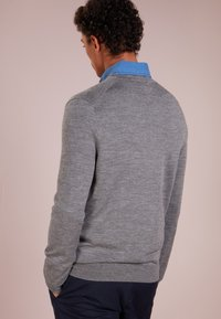 Polo Ralph Lauren - SLIM FIT - Strickpullover - fawn grey heather - 2