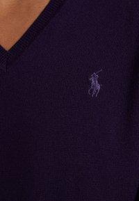 Polo Ralph Lauren - SLIM FIT - Maglione - gothic purple - 4